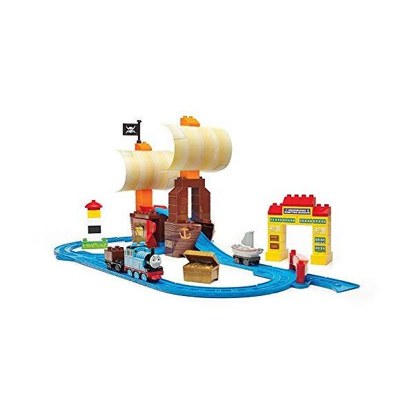 メガブロック トーマス ブロック おもちゃ 知育玩具 お誕生日プレゼント Mega Bloks Thomas & Friends Sodor's Legend of The Lost Treasure Building Set