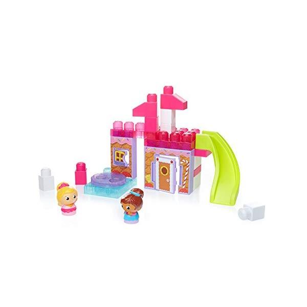 メガブロック ブロック おもちゃ 知育玩具 お誕生日プレゼント Mega Bloks Spin 'n Play Gingerbread Park Playset