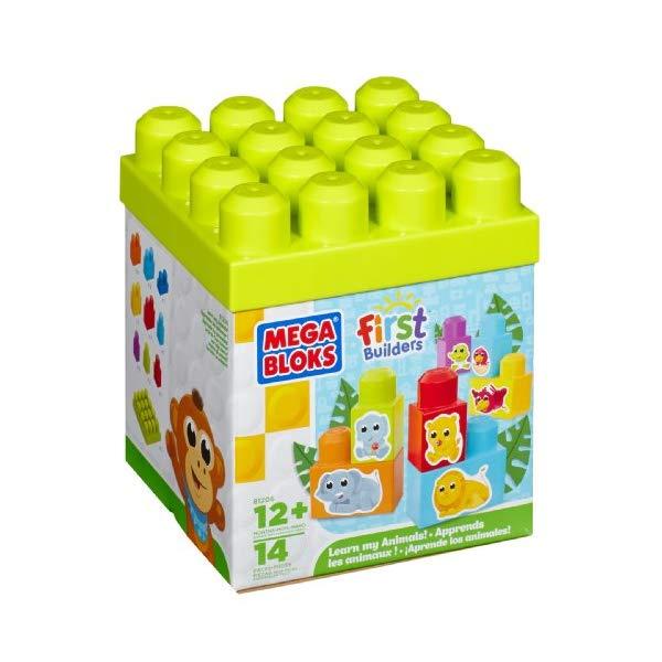 メガブロック ファーストビルダーズ ブロック おもちゃ 知育玩具 お誕生日プレゼント Mega Bloks First Builders Learn My Animals