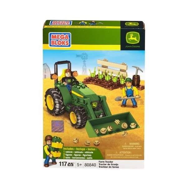 メガブロック ブロック おもちゃ 知育玩具 お誕生日プレゼント Mega Bloks John Deere Farm Tractor
