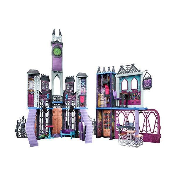 メガブロック モンスターハイ デラックス スクールセット ブロック おもちゃ Monster High Deadluxe High School Playset