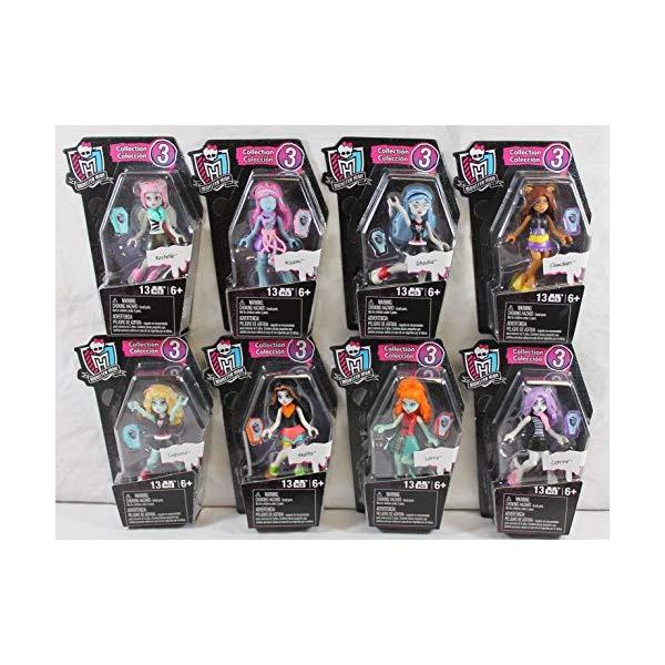 メガブロック モンスターハイ 8体セット ブロック おもちゃ Toy-Mh Ghouls Skullection Size Ea Monster High Ghouls Skullection Figures