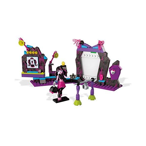 メガブロック モンスターハイ ドラキュローラ ブロック おもちゃ Mega Contrux Monster High Fangtastic Photo Day Building Set