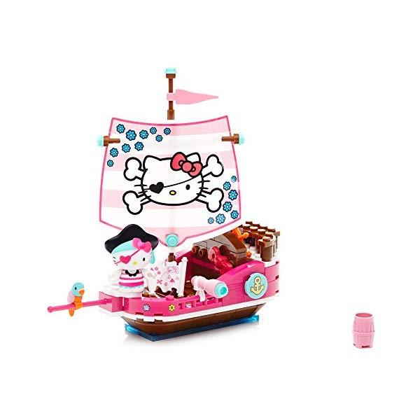 メガブロック キティーちゃん ハローキティ グッズ おもちゃ 海賊 パイレーツ Mega Bloks Hello Kitty Pirate Cove Building Kit