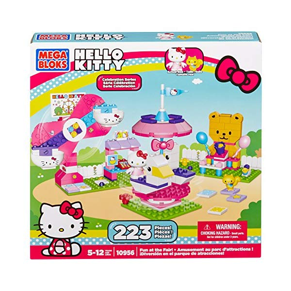 メガブロック キティーちゃん ハローキティ グッズ ブロック おもちゃ 遊園地 Mega Bloks Hello Kitty Fun At The Fair