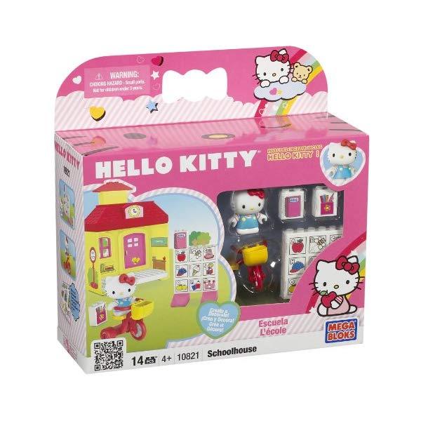 メガブロック キティーちゃん ハローキティ グッズ ブロック おもちゃ 学校 三輪車 Megabloks Hello Kitty School House