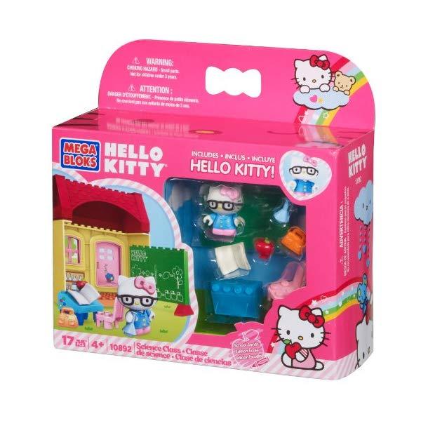 メガブロック キティーちゃん ハローキティ グッズ ブロック おもちゃ 理科室 実験 Mega Bloks Hello Kitty Science Class