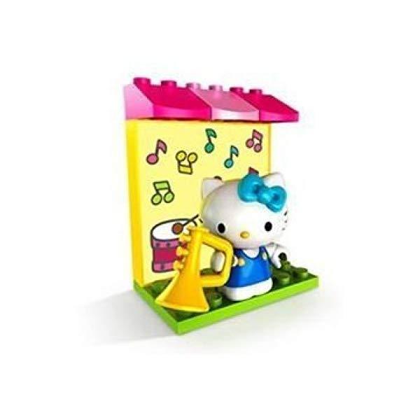 メガブロック キティーちゃん ハローキティ グッズ ブロック おもちゃ 音楽 トランペット MEGA BLOKS: Hello Kitty: Character Pack: Music
