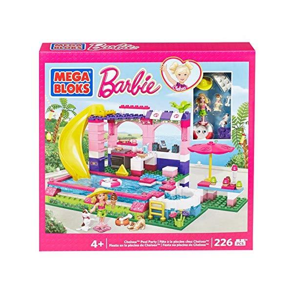 メガブロック バービー プール パーティー ブロック 知育玩具 Mega Bloks Pool Party