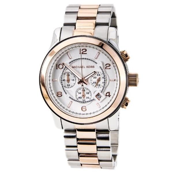 大注目 限定品 マイケルコース Michael Kors メンズ 腕時計 時計 Oversized Watch Two-Tone