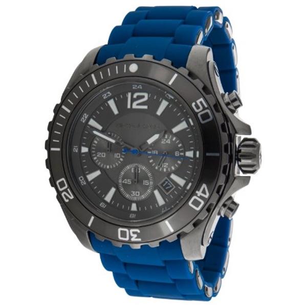 """マイケルコース Michael Kors メンズ 腕時計 時計 Michael Kors Men""""s MK8233 Drake Blue Watch"""