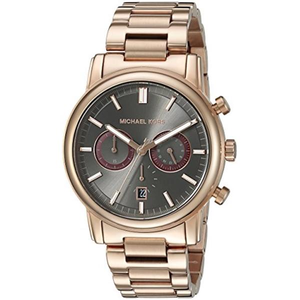 マイケルコース 買収 Michael Kors メンズ 腕時計 時計 Gold-Tone Men's 爆安 Rose Pennant MK8370 Watch
