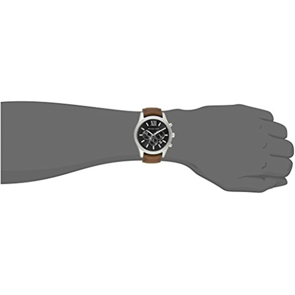 マイケルコース Michael Kors メンズ 腕時計 時計 Michael Kors Men's Lexington Brown Watch MK8456