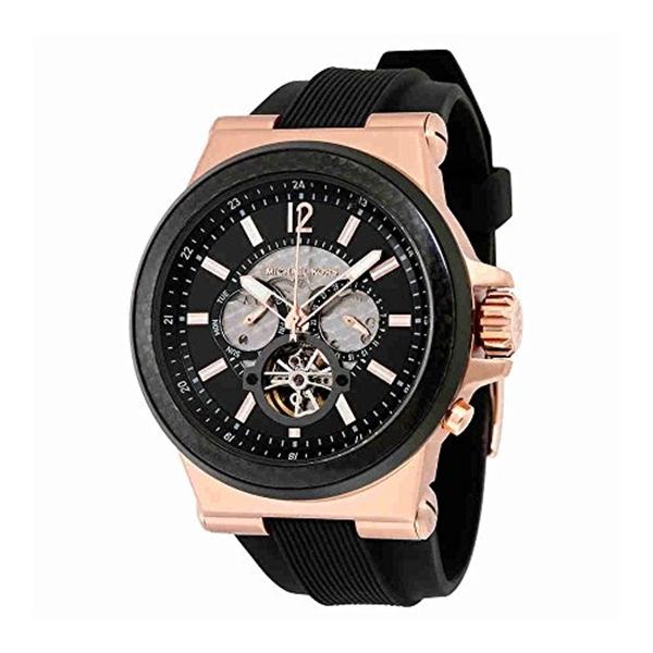 マイケルコース Michael Kors メンズ 腕時計 時計 Michael Kors Men's Black Watch MK9019