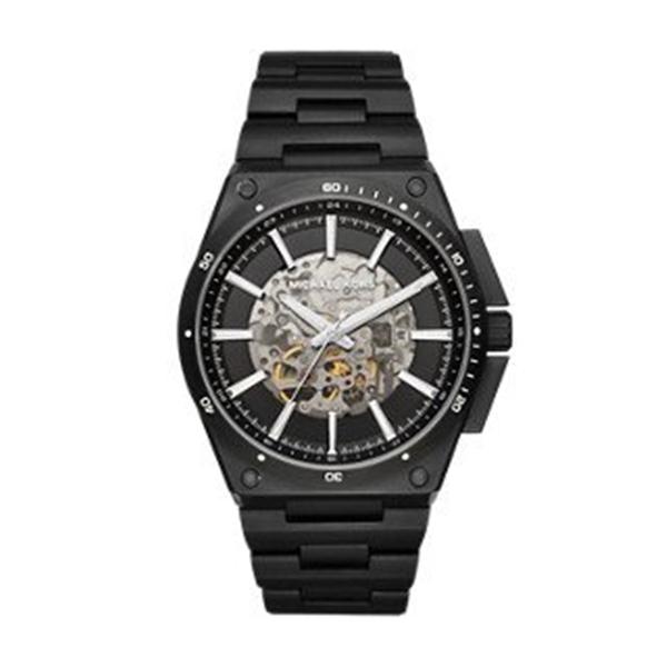 マイケルコース Michael Kors メンズ 腕時計 時計 Michael Kors Men's Wilder Black Watch MK9023
