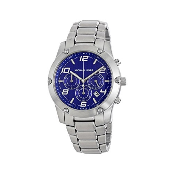マイケルコース Michael Kors メンズ 腕時計 時計 Michael Kors Men's Caine Silver-Tone Watch MK8487
