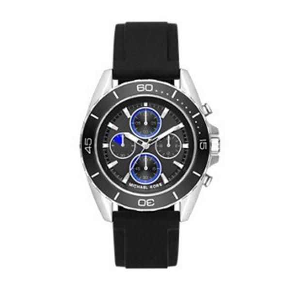 マイケルコース Michael Kors メンズ 腕時計 時計 Michael Kors Men's Jetmaster Silver-Tone Watch MK8485