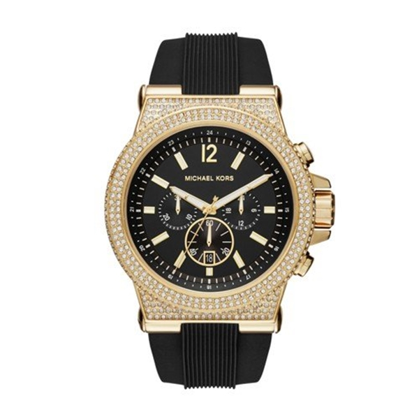 マイケルコース Michael Kors メンズ 腕時計 時計 Michael Kors Men's Black Watch MK8556