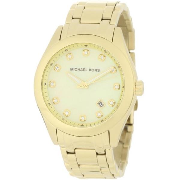 マイケルコース Michael Kors レディース 腕時計 時計 Michael Kors Women's MK5310 Gold Mother-Of-Pearl Watch