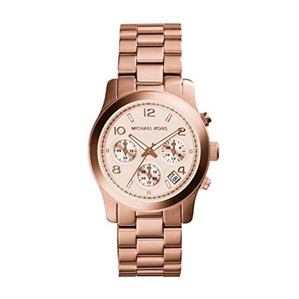 マイケルコース Michael Kors レディース 腕時計 時計 Michael Kors Watch Women's Rose Gold Plated Stainless Steel Bracelet MK5128