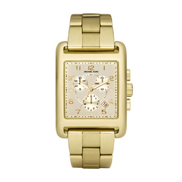 マイケルコース Michael Kors レディース 腕時計 時計 Michael Kors MK5436 Ladies Jet Set Gold Plated Chronograph Watch