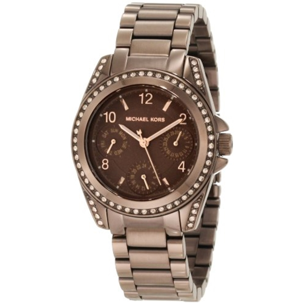 マイケルコース Michael Kors レディース 腕時計 時計 Michael Kors Women's MK5614 Espresso Chronograph Chocolate Watch