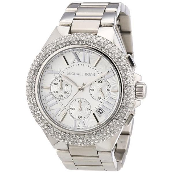 マイケルコース Michael Kors レディース 腕時計 時計 Michael Kors MK5634 Women's Chronograph Camille Stainless Steel Bracelet Watch