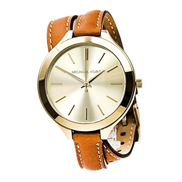 マイケルコース Michael Kors レディース 腕時計 時計 Michael Kors Women's MK2256 Slim Runway Gold Watch