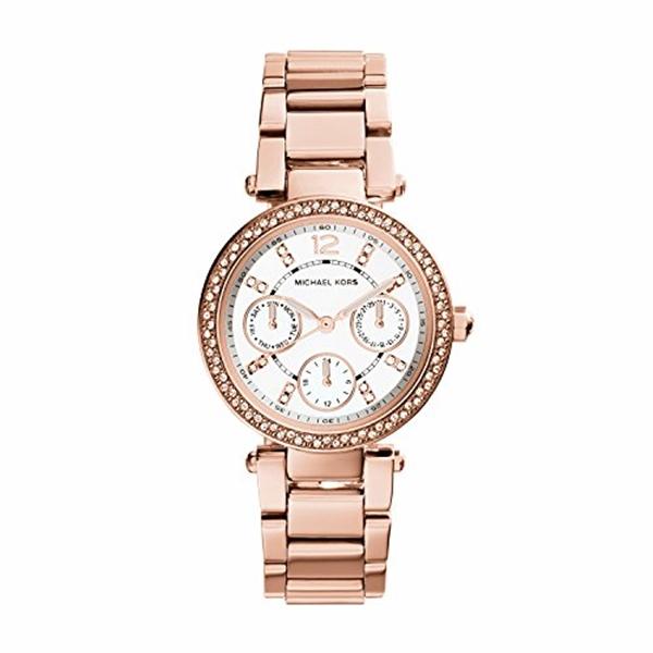 マイケルコース Michael Kors レディース 腕時計 時計 Michael Kors MK5616 Ladies Parker Rose Gold Watch