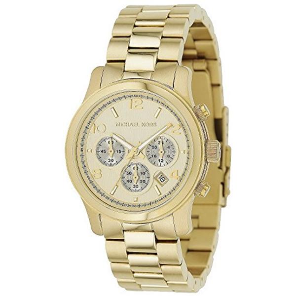 マイケルコース Michael Kors レディース 腕時計 時計 Michael Kors Copper Midsized Round Dial Chronograph Women Quartz Wristwatch Mk5055