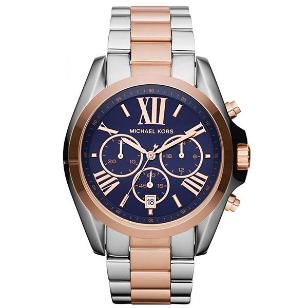 マイケルコース Michael Kors レディース 腕時計 時計 Michael Kors Mk5606 Ladie's Chronograph Bradshaw Two Tone Stainless Steel Watch.