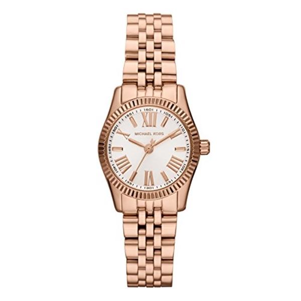 マイケルコース Michael Kors レディース 腕時計 時計 Michael Kors Women's MK3230 Lexington Rose Gold Stainless Steel Watch