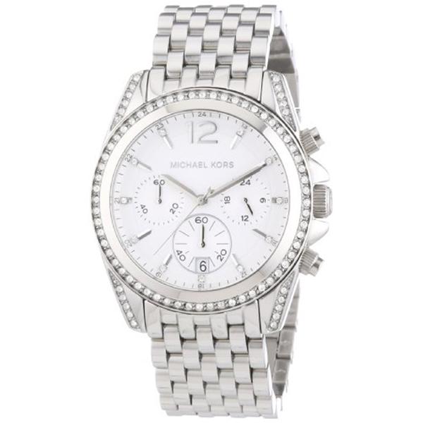 マイケルコース Michael Kors レディース 腕時計 時計 Michael Kors Women's Pressley Watch, Silver, One Size