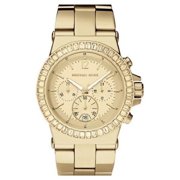 マイケルコース Michael Kors レディース 腕時計 時計 Michael Kors MK5861 Gold Tone Watch