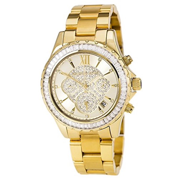 マイケルコース Michael Kors レディース 腕時計 時計 Michael Kors Women's Madison MK5810 Gold Stainless-Steel Quartz Watch