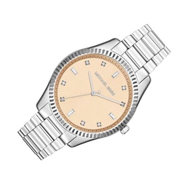 マイケルコース Michael Kors レディース 腕時計 時計 Michael Kors Women's Blake MK3239 Silver Stainless-Steel Quartz Watch
