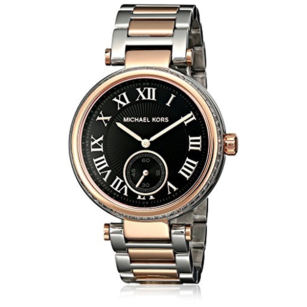 マイケルコース Michael Kors レディース 腕時計 時計 Michael Kors Women's MK5957 Skylar Black Stainless Steel Watch