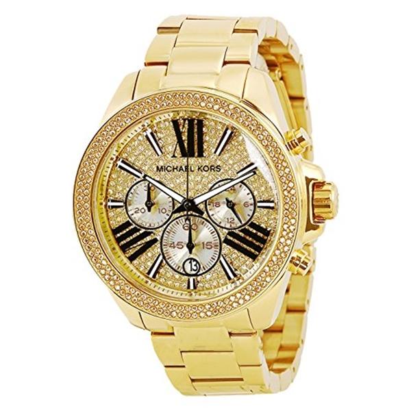 マイケルコース Michael Kors レディース 腕時計 時計 Michael Kors Women's Wren Watch, Gold, One Size