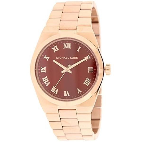 マイケルコース Michael Kors レディース 腕時計 時計 Michael Kors Women's Channing Watch, Rose/Crimson, One Size