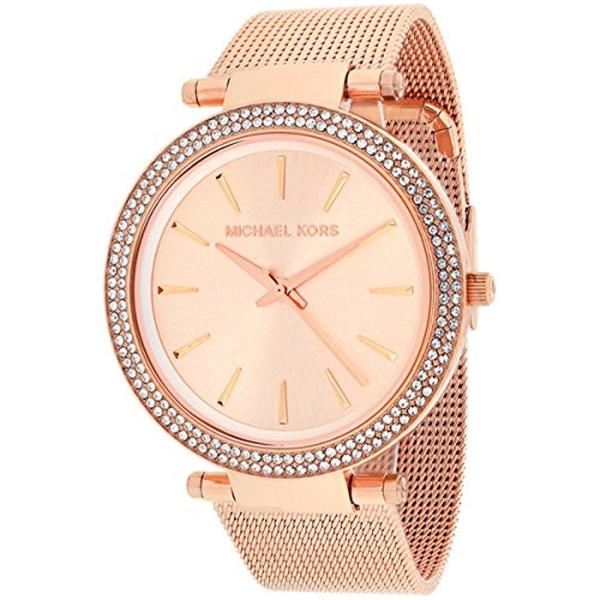 マイケルコース Michael Kors レディース 腕時計 時計 Michael Kors Women's MK3369 - Darci Rose Gold Tone Watch