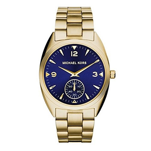 マイケルコース Michael Kors レディース 腕時計 時計 Michael Kors Callie Champagne Dial Gold-tone Unisex Watch MK3345