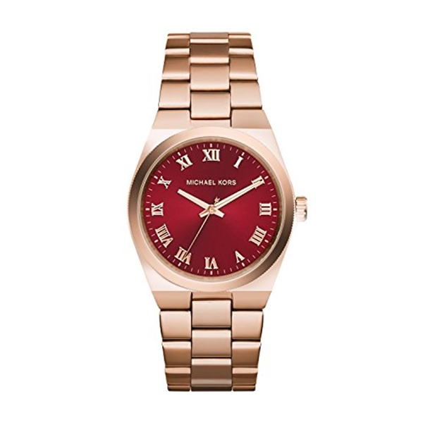 マイケルコース Michael Kors レディース 腕時計 時計 Michael Kors MK6090 Ladies Channing Rose Gold Plated Watch