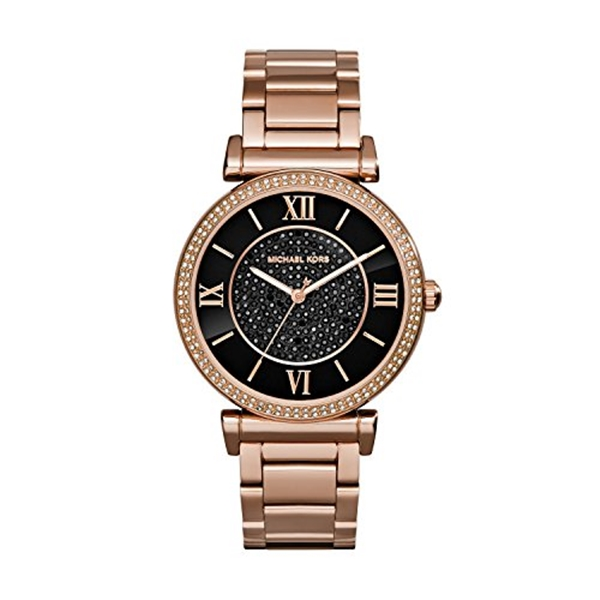 マイケルコース Michael Kors レディース 腕時計 時計 Michael Kors MK3356 Ladies Catlin Rose Gold Plated Watch
