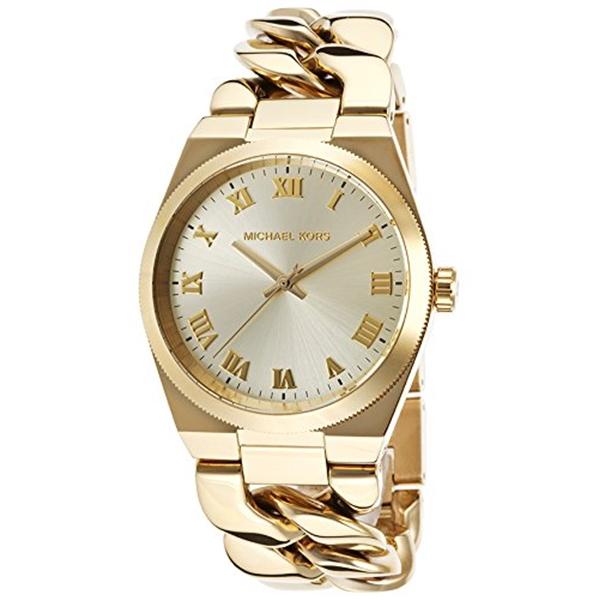 マイケルコース Michael Kors レディース 腕時計 時計 Michael Kors Women's Channing Watch, Gold, One Size