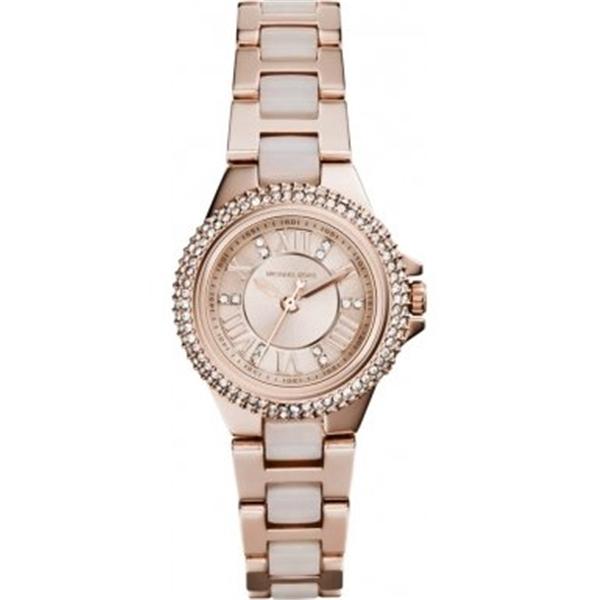 マイケルコース Michael Kors レディース 腕時計 時計 Michael Kors MK4292 Ladies Camille Rose Gold Plated Watch
