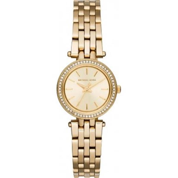 マイケルコース Michael Kors レディース 腕時計 時計 Michael Kors MK3295 Ladies Mini Darci Gold Plated Watch