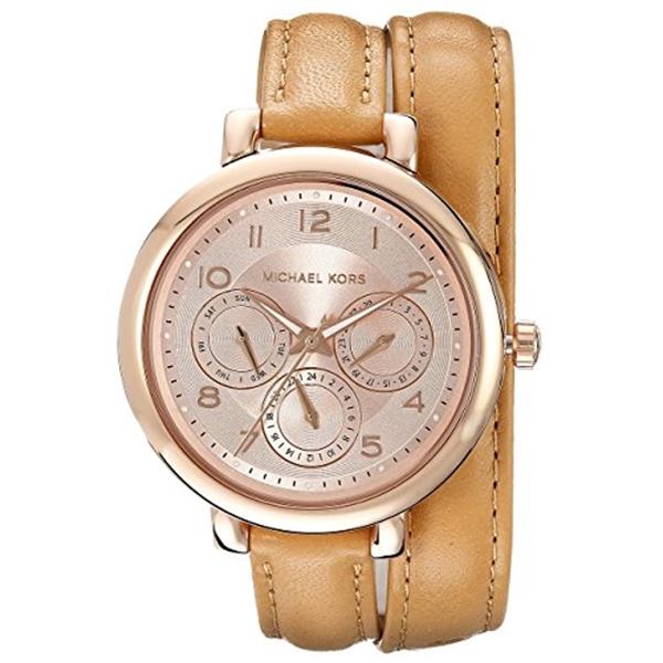 マイケルコース Michael Kors レディース 腕時計 時計 Michael Kors Women's MK2406 - Kohen Rose Gold/Brown Watch