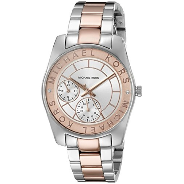 マイケルコース Michael Kors レディース 腕時計 時計 Michael Kors Women's Ryland Two-Tone Watch MK6196