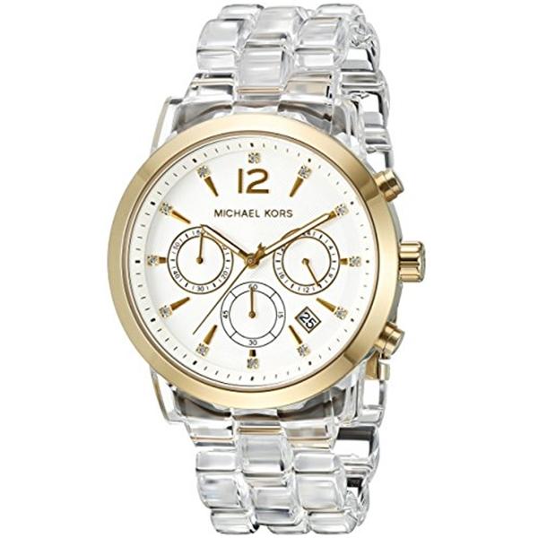 マイケルコース Michael Kors レディース 腕時計 時計 Michael Kors Women's Audrina Gold-Tone Watch MK6200