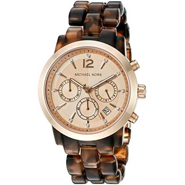 マイケルコース Michael Kors レディース 腕時計 時計 Michael Kors Women's Audrina Brown Watch MK6199